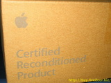 Certified Reconditioned Product Outer Box